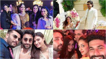 Sonam, Arjun, Khushi and the Kapoor clan at Mohit Marwah's sangeet and mehendi ceremony
