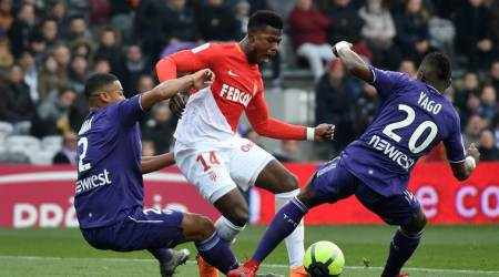 Ligue 1: Monaco's defense falls apart in 3-3 draw at Toulouse
