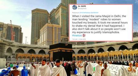 Muslim women share sexual harassment incidents during Hajj with#MosqueMeToo