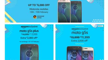 Moto G5s Plus, Moto G5s, Moto G5, Moto G5 Plus get discounts on Amazon: All you need to know