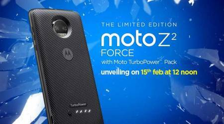 Moto Z2 Force with shatterproof display to launch in India on February 15