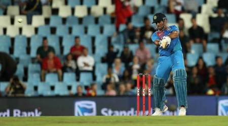 MS Dhoni slams joint fastest fifty by Indian batsman against South Africa in T20Is