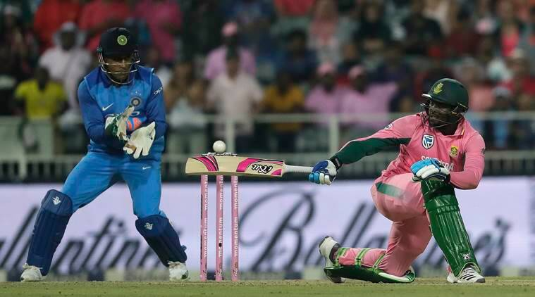 MS Dhoni, India vs South Africa, Ind vs Sa, India tour of South Africa 2018, R Sridhar, MS Dhoni dismissals, Fielding, South Africa national cricket team, cricket news, indian express
