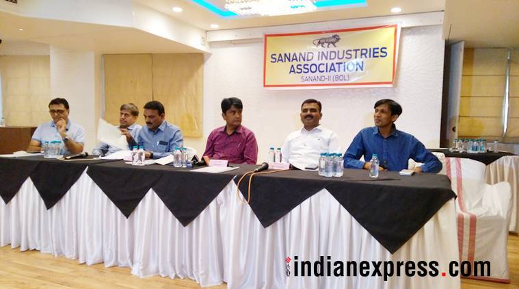 msme, small business, enterpreneurs, gujarat, madhya pradesh, sanand gidc, sanand industrial association, indian express