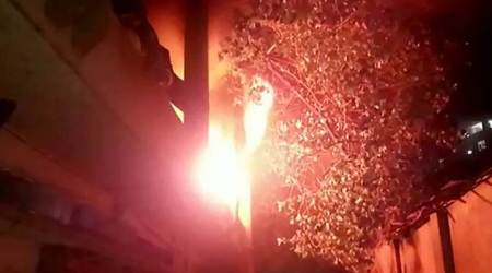 Mumbai: Fire at Shanti Industrial State in Mulund, no injuries reported