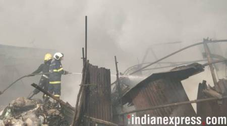 Mumbai: Fire breaks out in Mankhurd, no injuries reported