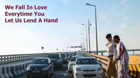 Guess who is Mumbai Police's Valentine? Watch the video to findout