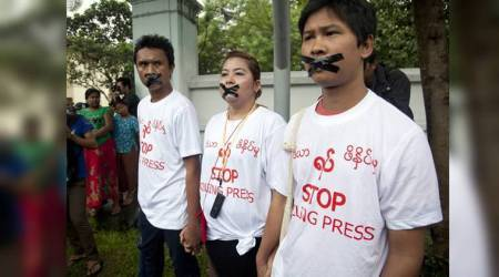 Myanmar government under Aung San Suu Kyi cracks down on journalists