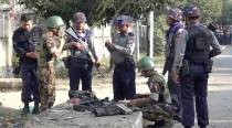 Several bombs set off around troubled Myanmar state, one hurt