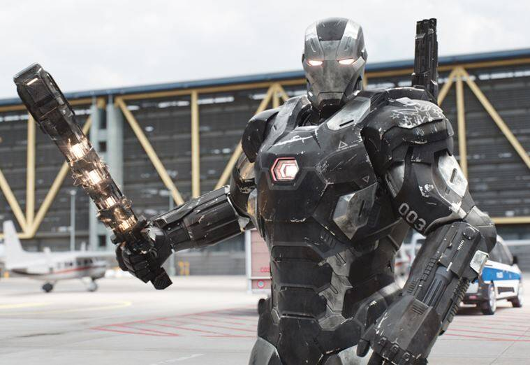 war machine in captain america civil war