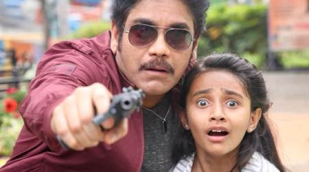 Nagarjuna shoots for Ram Gopal Varma's cop movie in Mumbai