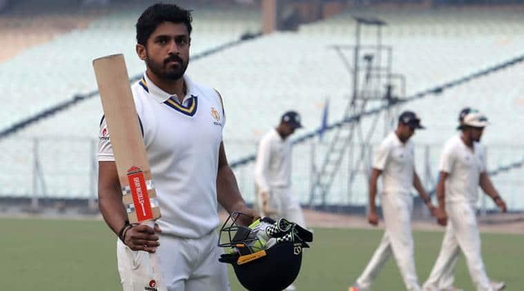 Karun Nair, Karun Nair runs, Karun Nair batting, Karun Nair updates, Karun Nair news, Vijay Hazare Trophy 2018, sports news, cricket, Indian Express