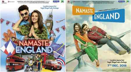 Namaste England: Arjun Kapoor and Parineeti Chopra starrer to release on December 7
