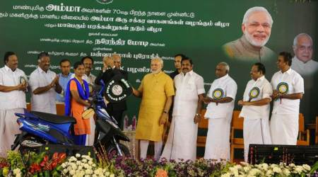 Tamil Nadu got higher funds allocations, projects under NDA regime: PM Modi inChennai