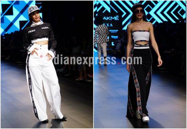 lakme fashion week, lakme fashion week 2018, lakme fashion week photos, lakme fashion week day 5, lfw day 5, LFK 2018, LFW 2018 photos, LFW 2018 latest photos, LFW day 5 showstopper,s LFW swara Bhasker, LFW Shilpa Shetty Kundra, LFW Kangana Ranaut, Indian Express, Indian Express News