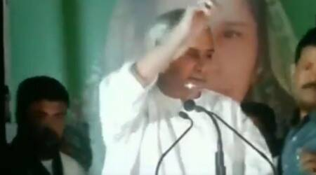 Watch: Man throws shoes at Odisha CM Naveen Patnaik, held