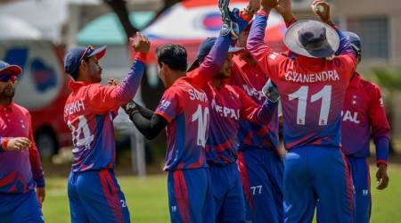China bowled out for 26, Nepal chase down total in 11balls