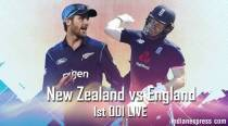 New Zealand vs England Live Cricket Score 1st ODI
