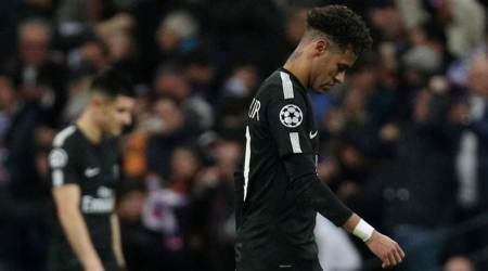 Neymar's father hits out at son's critics after Champions League defeat