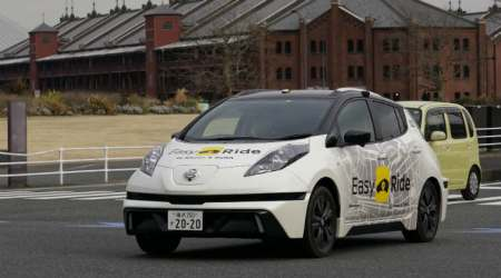 Nissan starts testing semi-autonomous rides with Easy Ride service