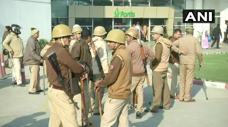 UP police suspend four personnel in fake encounter case