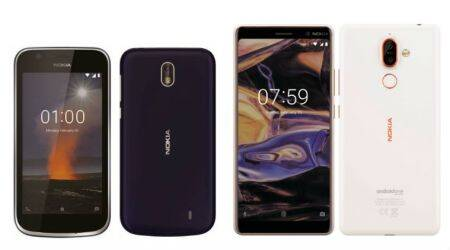 Nokia 1, Nokia 7 Plus images leaked online, launch expected at MWC 2018