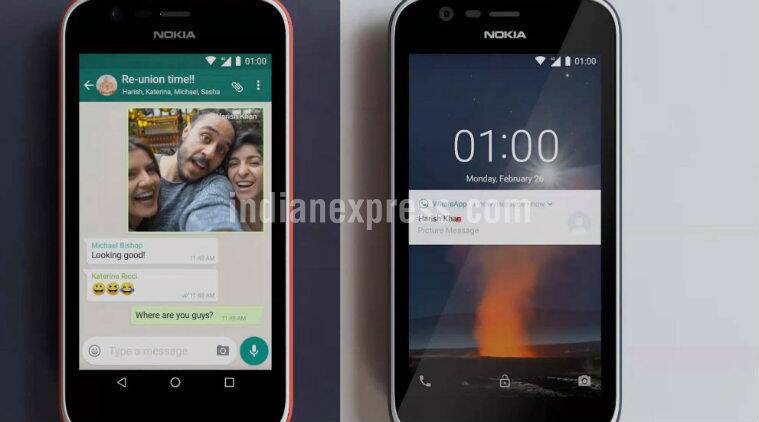 Nokia 1 Android Go Edition Launched in India