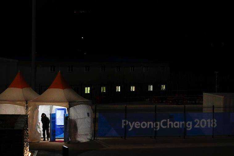 S. Korean, DPRK athletes march together as Winter Olympics opens