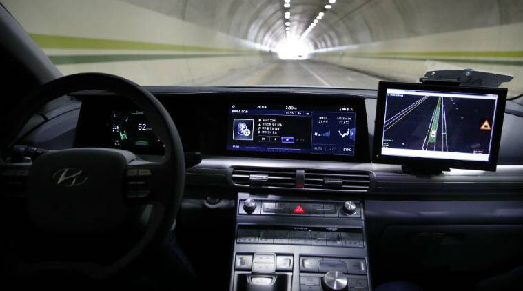 2018 Winter Olympics, auonomous techology, PyeongChang Olympics 5G, self-driving cars, KT 5G bus, internet-connectied devices, Hyundai Nexo, fuel-cell cars, wireless technology