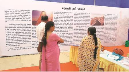 Padmavat, Rajput expo, Gujarat, Vijay Rupani, Indian express