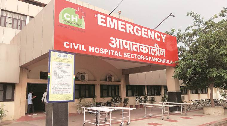 panchkula, Panchkula hospitals, panchkula govt hospital, panchkula civil hospital, panchkula health department, panchkula news, indian express