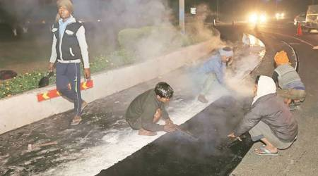 Panchkula Municipal Corporation introduces stone mastic asphalt for road carpeting