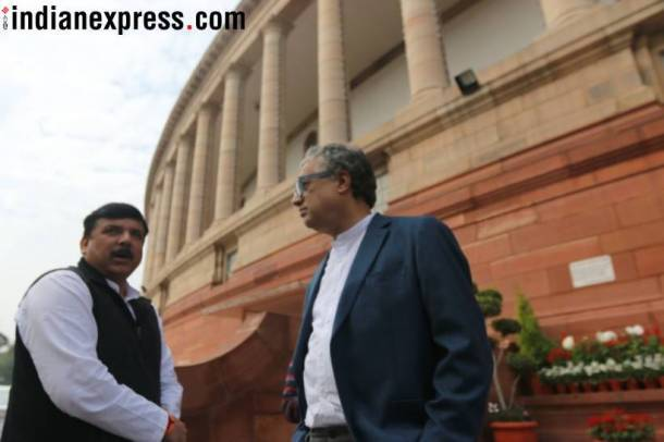 Budget Session 2018, Budget Session, Parliament, Parliament Session, Amit Shah, Ghulam Nabi Azad, Nitin Gadkari, BJP, Congress, India News, Indian Express, Indian Express News