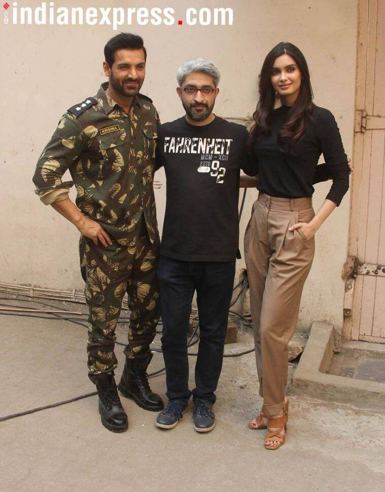Parmanu stars John Abraham and Diana Penty