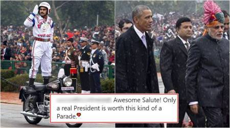 Obama's White House photographer Pete Souza posts India's Republic Day Parade photo to troll Donald Trump