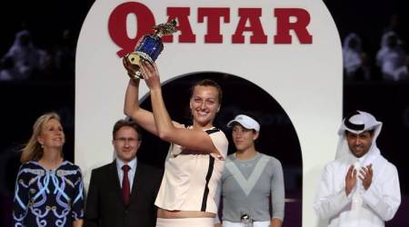 Petra Kvitova beats Garbine Muguruza in Qatar for second straight title