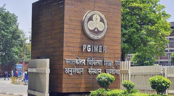 PGIMER receives online donations of Rs 32.5 lakh