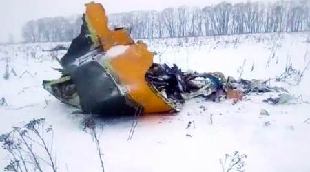 Russian passenger plane crash caused by pilots' error on speed data