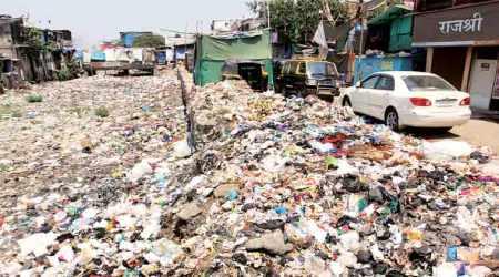 AAP slams BJP in row overlandfill