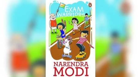 Cover of PM Narendra Modi's book for students on dealing with exam stress released