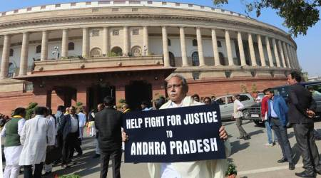 Slogan-shouting Andhra MPs test Chair's patience, force disruptions in Rajya Sabha