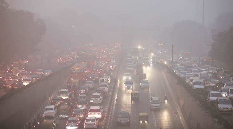 Delhi: Air quality crosses severe level as dusty haze persists