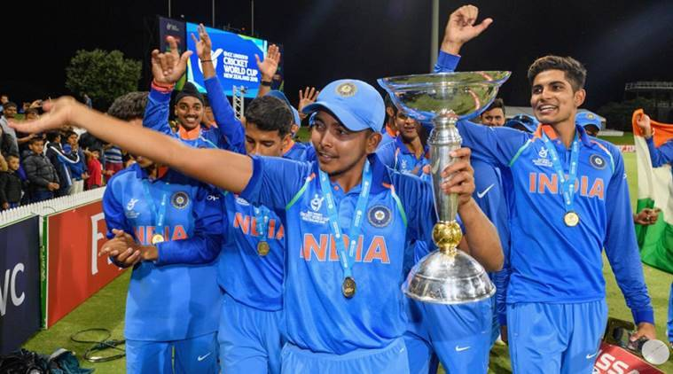 India beat Australia in ICC U-19 World Cup 2018 final.