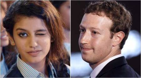 Priya Prakash Varrier, aka 'winking girl', has more followers than Mark Zuckerberg on Instagram