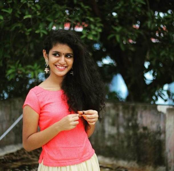 priya prakash varrier debut movie