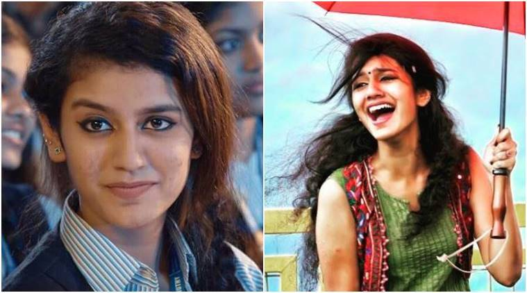 An overnight Mallu beauty Priya Prakash Varrier lands in controversy