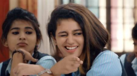 In the wink of an eye: How Vadodara police is using Priya Varrier's fame to send out safe driving message