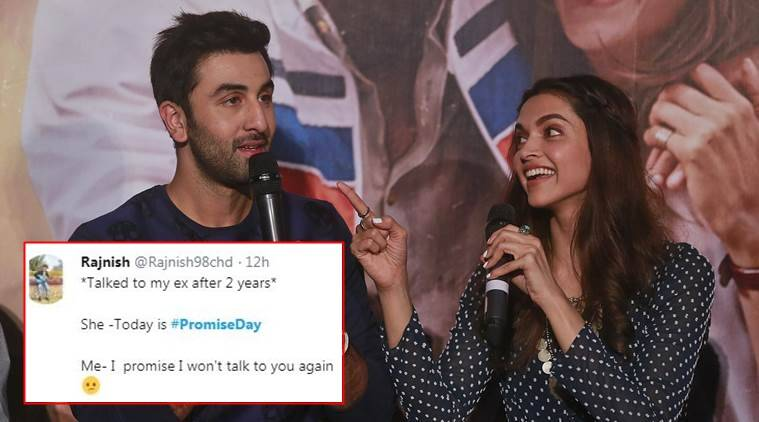 promise day, quirky promises, funny promises, promise day wishes, quirky funny promises, valentine's day, indian express, indian express news