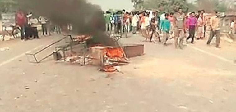 bihar accident, bihar students killed, bihar news, muzaffarpur district, bihar school children killed, indian express, india news