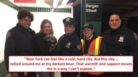 A puppy was lost in the busy NYC subway; the way she was rescued will warm your heart